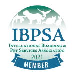 IBPSA Members agree to adhere to a Code of Conduct and follow all applicable federal, state, and local rules, regulations, and laws in the cities, counties, and states in which they are located.  The IBPSA Member badge signifies that this pet care facility has invested in education and strives for best practices and the highest standards for the pet care services industry.